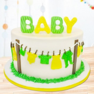 Baby Cake (Fondant)