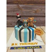 Kids  Birthday Cake 01