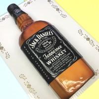 Jack Daniels Bottle Shaped Cake