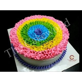 Rainbow Cake 001