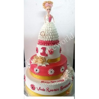 Barbie Doll Cake 009