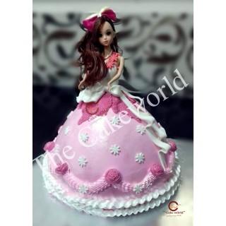 Barbie Doll Cake 019