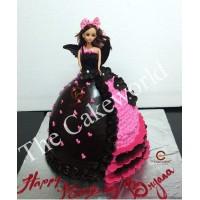 Barbie Doll Cake 020