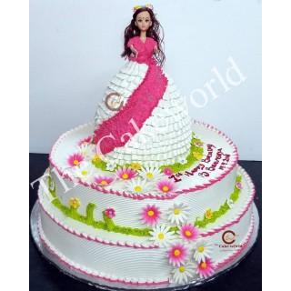 Barbie Doll Cake 021