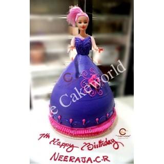 Barbie Doll Cake 023