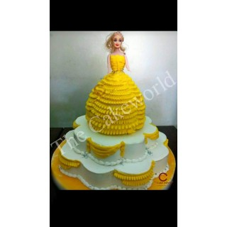 Barbie Doll Cake 012