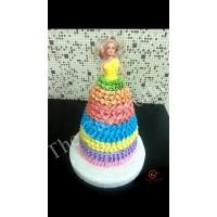 Barbie Doll Cake 013
