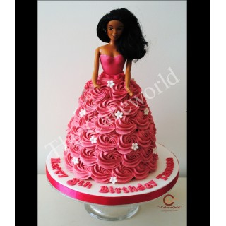 Barbie Doll Cake 001