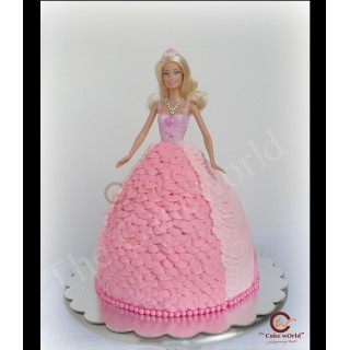 Barbie Doll Cake 003