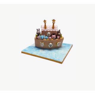 Noah's Arc Boat Cake