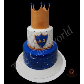 Crown Cake Three