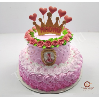 Crown Cake Four