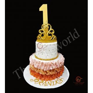 Fancy Fondant Cake