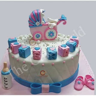 Baby Caddle Cake