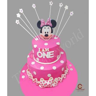 Minnie Face Cake